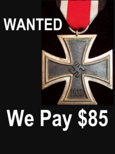 nazi medal cross